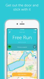 Runkeeper aplikacija