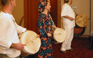 Foto: Festival Alternative, Uklanjanje negativne energije prostora šamanskim bubnjevima