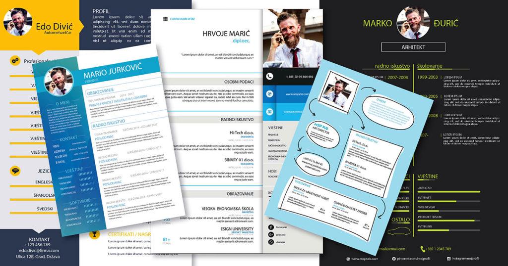 Poslovni životopis curriculum vitae (CV)